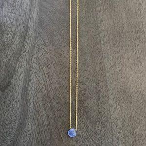 Tanzanite Necklace (8mm)